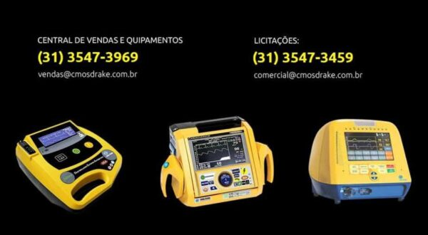 central de vendas e equipamentos