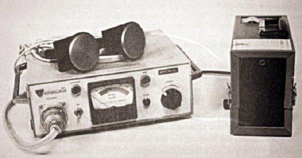 primeiro desfibrilador portátil