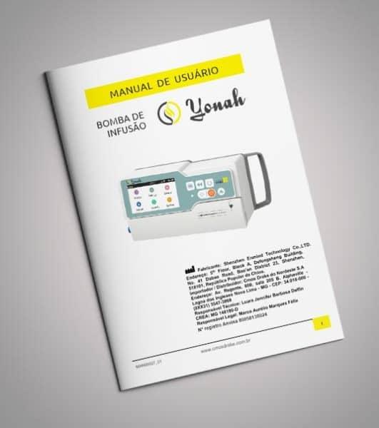 Manual Bomba de Infusão Yonah