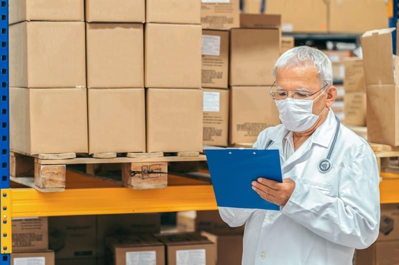 planejamento de compras de materiais médicos